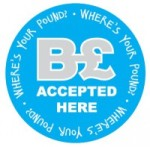 B£ accepted here